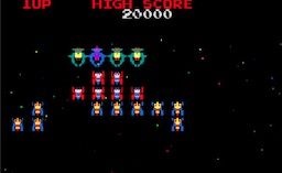 Galaga (Midway set 1 with fast shoot hack)